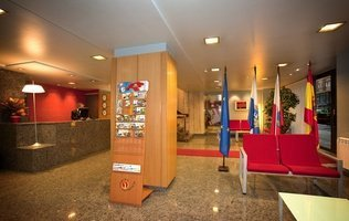 Reception City House Alisas Santander Hotel